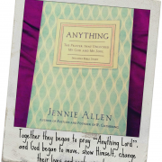 "Book Review ""Anything: The Prayer that Unlocked My God and My Soul"""""