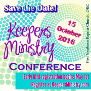 Exciting Announcement from Lori: Our First Ever Keepers Ministry Conference!