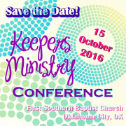 EXCITING ANNOUNCEMENT from the Keepers Ministry!