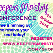 Keepers Conference Registration: Time is Running Out!