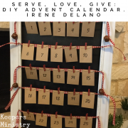 Serve, Love, Give: DIY Advent Calendar