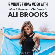 Interview with Miss Oklahoma Contestant: Ali Brooks