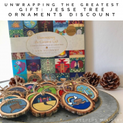 Jesse Tree Ornaments Plus, a Special Keepers Discount