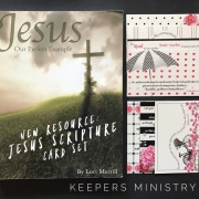 Savings on NEW Jesus, Our Perfect Example Scripture Card Sets!