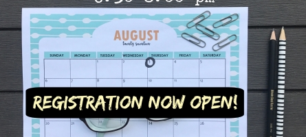 """Keepers Connection """"Back to School"""" Event: Registration NOW OPEN!"""