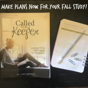 Make Plans Now for Your Fall Study