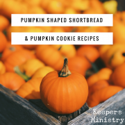 Pumpkin Cookie & Pumpkin Shaped Shortbread Cookie Recipes