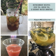 Refreshments to Stay Healthy & Hydrated