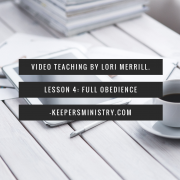 """Where's the Water?!"" Video Series Lesson 4: Full Obedience"