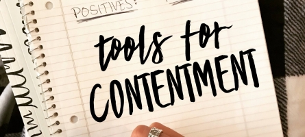 Tools for Contentment