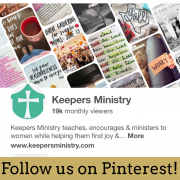 Follow Keepers on Pinterest!