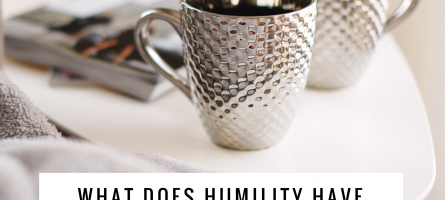 What Does Humility Have to Do With Marriage?