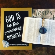 God is in the Redeeming Business