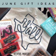 Give-Love-Serve: June Gift Ideas for Serving Others