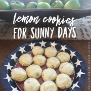 Lemon Cookies for Sunny Days