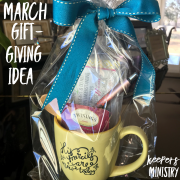 Give-Love-Serve: March Gift Ideas for Serving Others