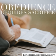 Obedience Requires Sacrifice