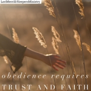 Obedience Requires Faith and Trust