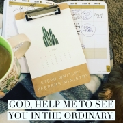 Seeing God in the Ordinary