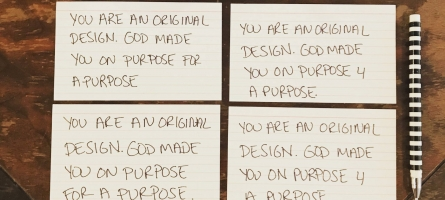 Sticky Notes for Our Childrens' Souls
