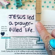 Jesus Led a Prayer-Filled Life