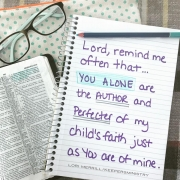 Trusting God with Your Child's Faith
