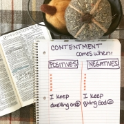 Living in Contentment