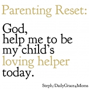Help Me Be My Child's Loving Helper