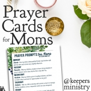 Prayer Prompts for Moms