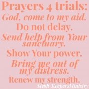 Prayers for Trials