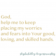 Worries and Fears