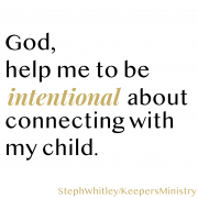 Intentionality in Parenting