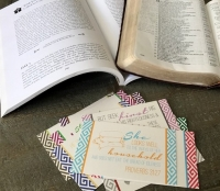 Cards with CTBAK workbook and Bible