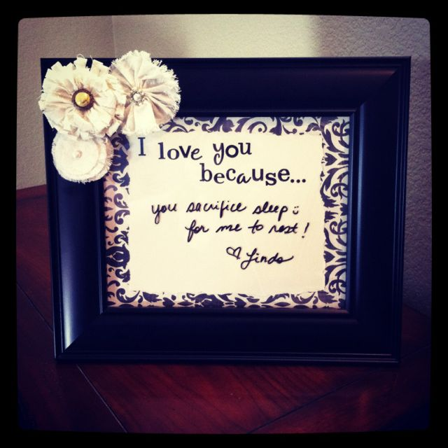I Love You Because Frame Keepers Ministry